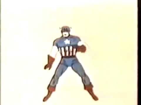 When Captain America throws his might shield…